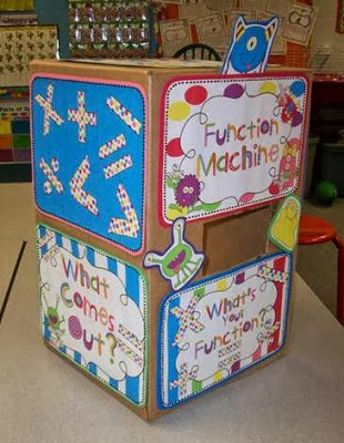 Monster Math Function Machine