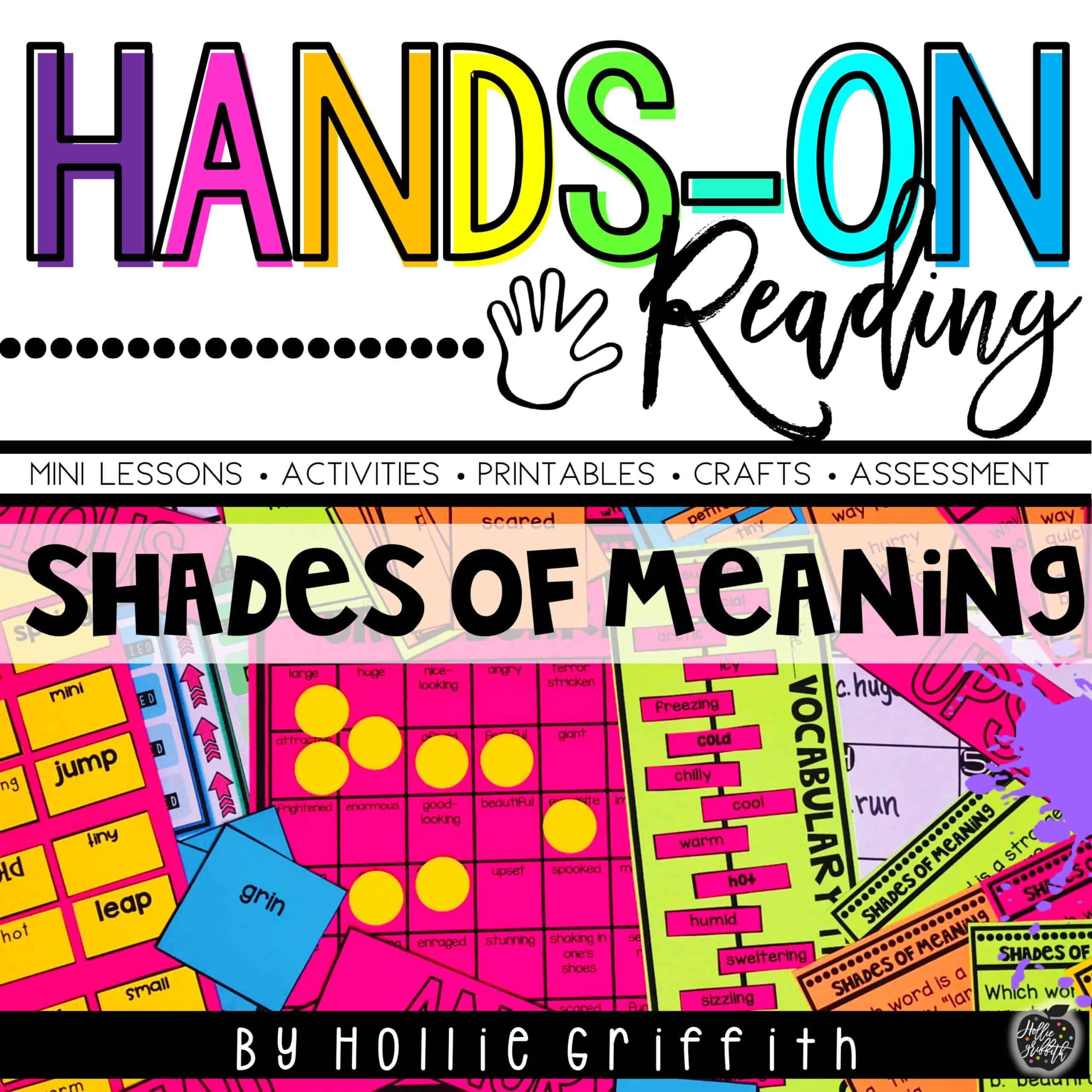 Teaching Shades of Meaning