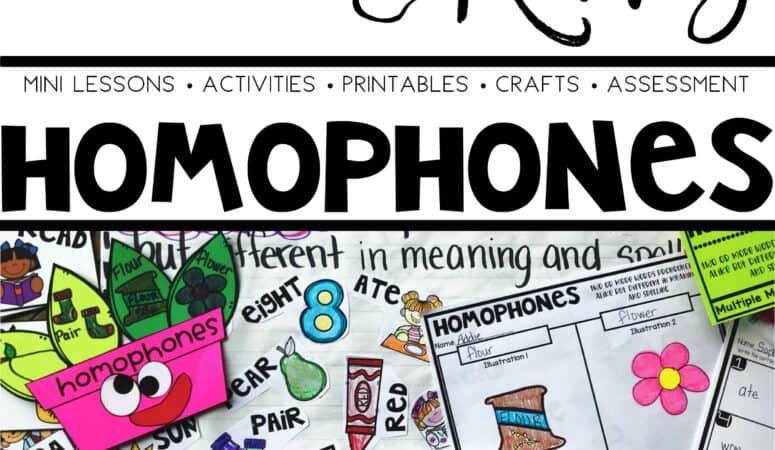 Teaching Homophones
