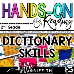 100th day of School AND Dictionary Skills