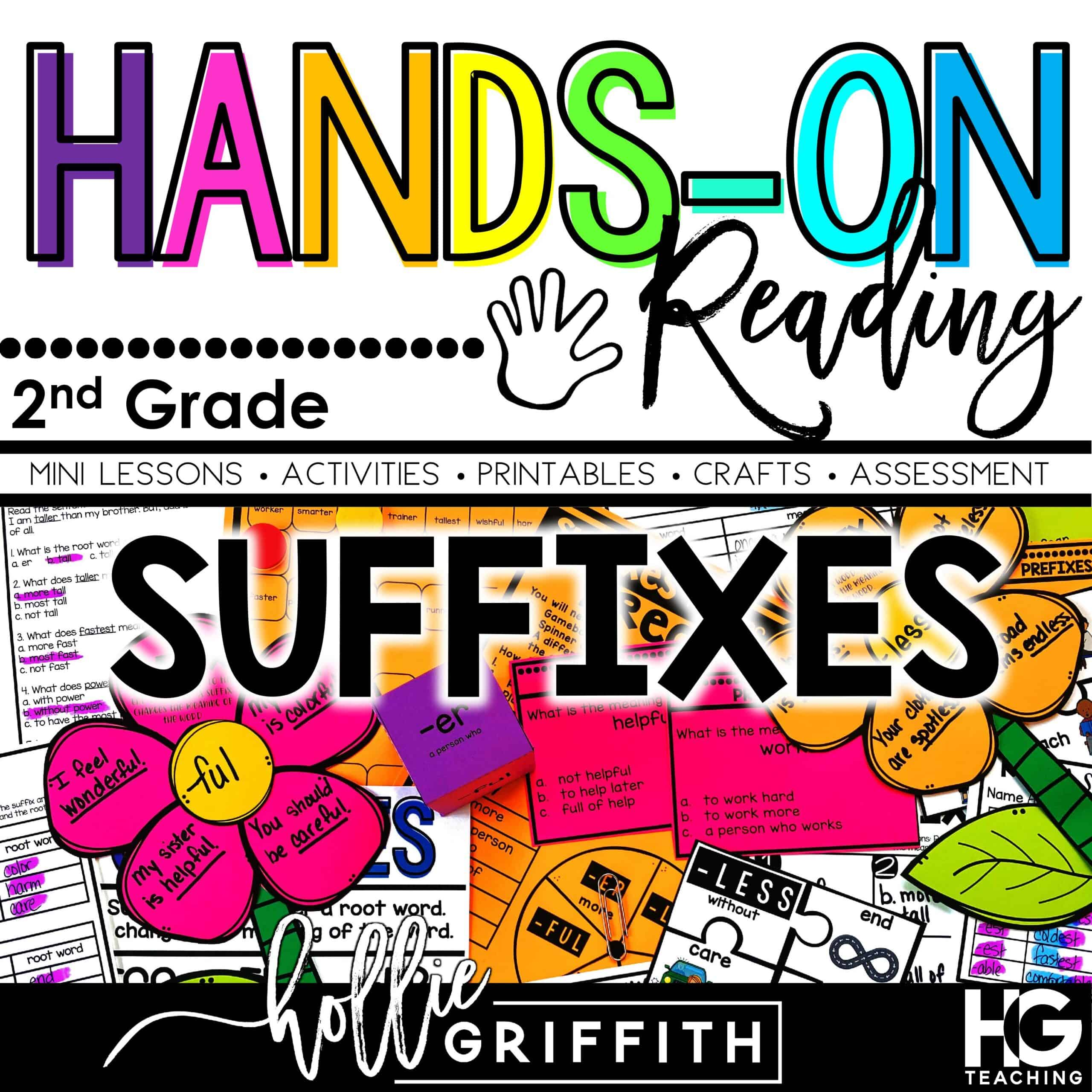 Activities to Teach Suffixes