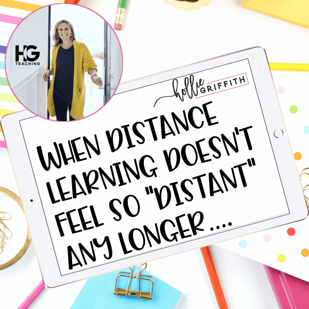 "When Distance Learning STOPS feeling so ""Distant"""